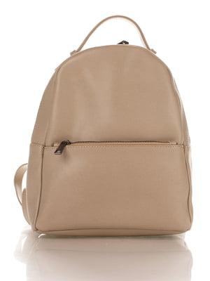 Рюкзак темно-бежевий   4757563