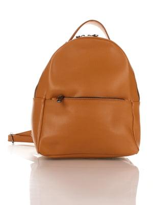 Рюкзак коньячного кольору | 4757565