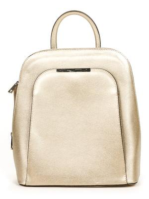 Рюкзак золотистый | 4979583