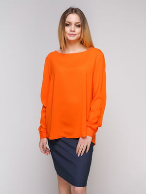 Блуза оранжевая | 4959260