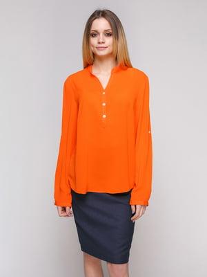 Блуза оранжевая | 4959228
