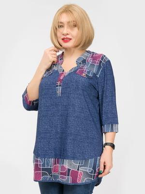Блуза синя | 4982850