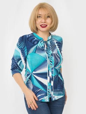 Блуза в принт | 4982881