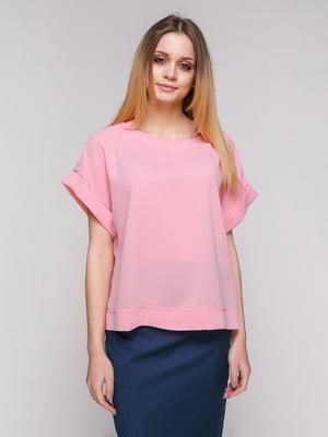 Блуза цвета пудры | 4959289