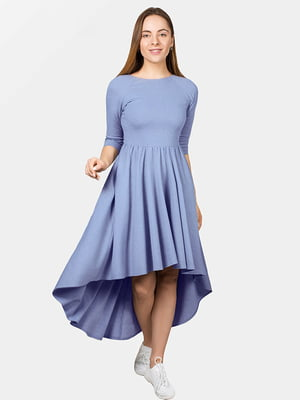 Платье голубое | 4982598
