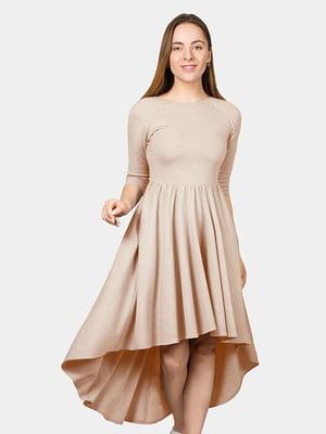 Платье бежевое | 4982600