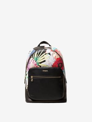 Рюкзак в квітковий принт | 4982958