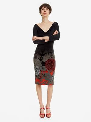 Платье в цветочный принт   4983139