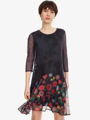 Сукня в квітковий принт   4983141