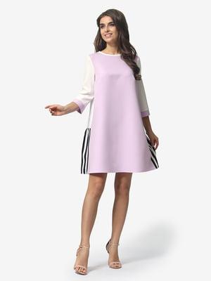 Платье сиреневое | 4983765
