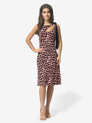 Платье анималистической расцветки | 4983785