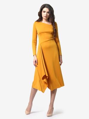Платье горчичного цвета | 4983806