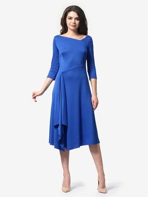 Платье цвета электрик | 4983808