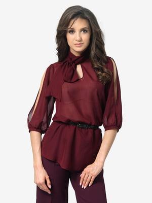 Блуза бордовая | 4983833