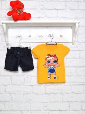 Комплект: футболка и шорты | 4983850