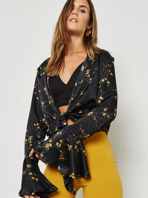 Блуза черная   4981349