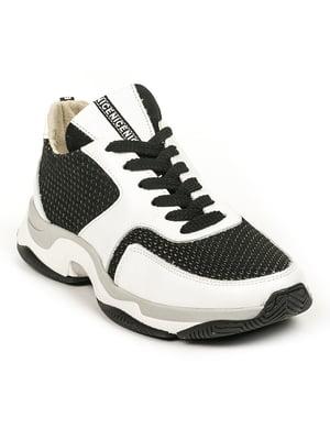 Кроссовки черно-белые | 4978544