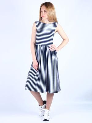 Платье в полоску | 4984045