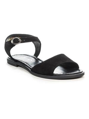 Сандалии черные   4978559