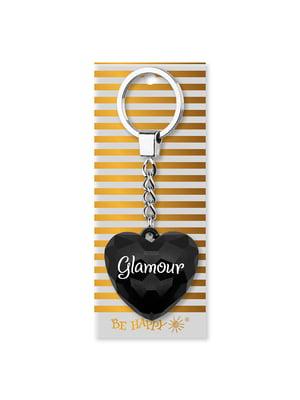 Брелок-сердце с надписью Glamour | 4984732