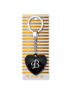 Брелок-серце з написом «В» | 4984756