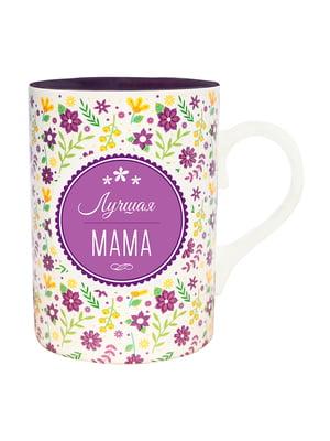 Кухоль подарунковий з написом «Лучшая мама» | 4984816