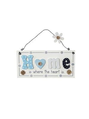 Табличка декоративная Home is where the heart... | 4984870