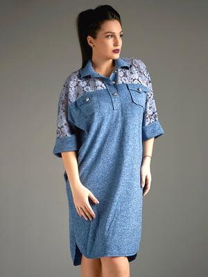 Платье синее | 4808035