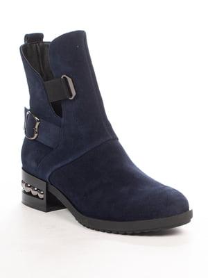 Ботинки синие | 4979801