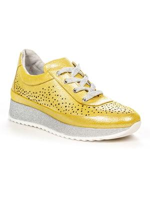 Кроссовки желтые   4979766