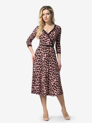 Сукня анімалістичного забарвлення   4985759