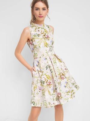 Платье в цветочный принт | 4985887