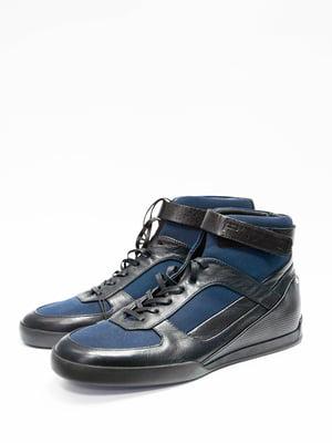 Кросівки чорно-сині - Porsche Design - 4712019