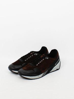 Кросівки темно-коричневі | 4860041