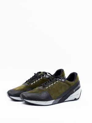 Кросівки кольору хакі | 4860042