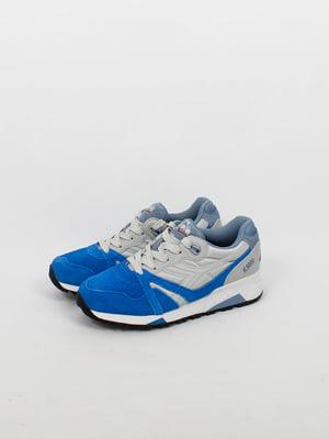 Кроссовки серо-синие | 4973857