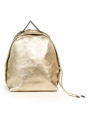 Рюкзак золотистый | 4979505
