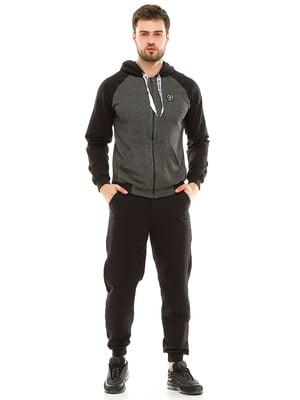 Костюм спортивный: толстовка и брюки | 4986345