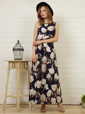 Платье в цветочный принт   4986420