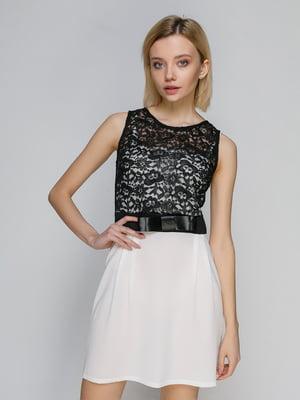 Сукня двоколірна | 3073149