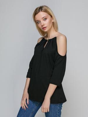 Блуза чорна | 4340965