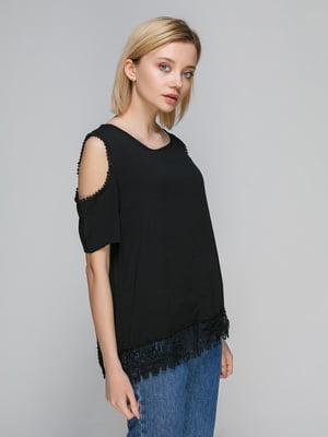 Блуза черная | 2507114