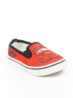 Мокасины красные | 4985276