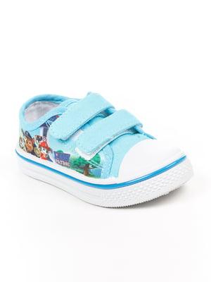 Кеды голубые | 4985283
