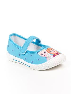 Туфли голубые | 4985278