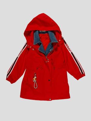 Куртка червона | 4988371