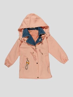 Куртка рожева | 4988372