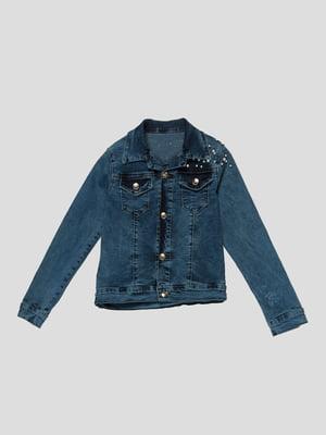Куртка блакитна | 4988368