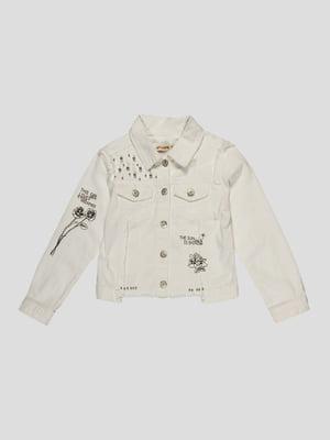 Куртка біла | 4988375
