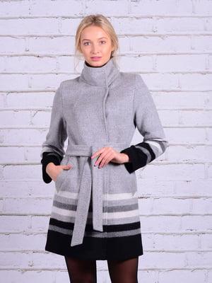 Пальто серое | 5010292